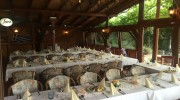 zasklená terasa - svatba